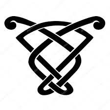 Keltský Uzel Vzorníky Pro Tetování Nebo Jiný Design Vektor Stock