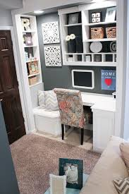 organizing a small office. Built-In Office Nook {Basement Project} Organizing A Small