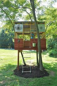 basic tree house pictures. 33 Simple And Modern Kids Tree House Designs I Like The Bucket Pulley Idea! Basic Pictures