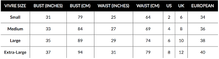 Lululemon Pants Size Chart Sizing Chart Find Your Fit Vivre Activewear