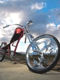 custom two wheeler chopper bicycle hell s belle lowrider bicycle