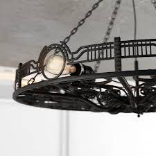 chandelier octapus subberjean 3d model max fbx 4