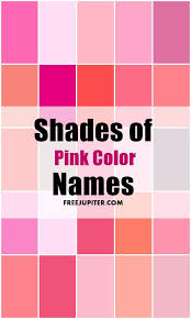While you are trying to explore the color pink, you will have to know that  there is a huge list of the shade of pink like we have already told you  about ...