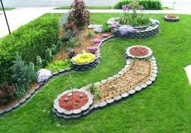vegetable garden border ideas creative with brown wood edging front yard design 66 vege