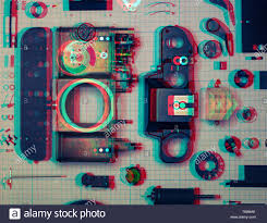 Parts Are Completely Disassembled Old Retro Film Slr Camera