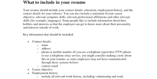 What Information Do You Need For A Resume. what needs to be on a resume what  is the strangest thing you