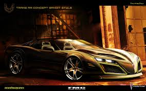 Pontiac Trans Am Bandit style by FutureMuscleCars on DeviantArt