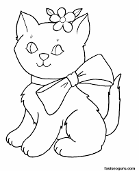 Coloring Pages For Girls Easy Colouring Tiny Draw Printable