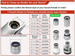 bathroom faucet aerator size. factory m24 m22 brass water faucet aerator for mixer chrome plated male 24mm female 22mm filter head to tap accessories bathroom size e