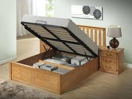 Full Bed Frame With Storage Double Bed Frame With Storage Amazon ...