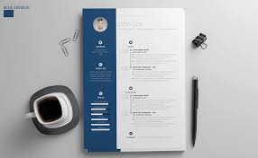 Free Resume Templates For Microsoft Word Stunning 40 Eye Catching CV Templates For MS Word Free To Download