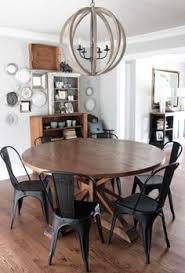 farmhouse table with metal chairs table custom made by josh butler