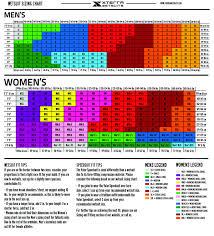 Size Guide For Men Women Xterra Wetsuits Xterra Wetsuits