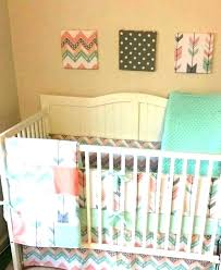 gold crib bedding peach nursery bedding arrow crib bedding set chevron sets deposit peach gray c