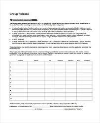 Beneficiary Release Form Awesome 48 Beneficiary Release Form Samples Free Sample Example Format