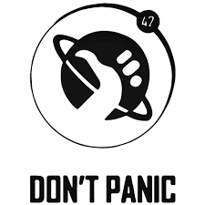 Image result for dont panic pic