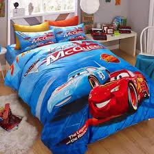 Twin Queen Size Lightning Mcqueen Cars Duvet Cover Bedding
