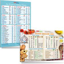 Details About Air Fryer Cooking Times Cool Kitchen Conversion Chart Magnets Holiday Gift Set