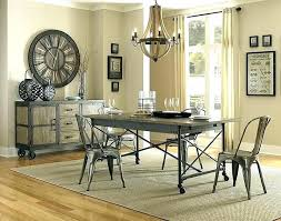 industrial kitchen table furniture. Industrial Dining Table Set Room Chairs Kitchen Furniture I