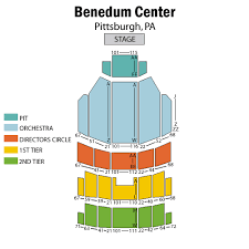 Benedum Center Detailed Seating Chart Best Picture Of