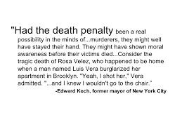 argumentative essay about capital punishment
