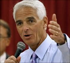 Charlie Crist (AP photo). Crist, who is running for a U.S. Senate seat, came to the White House along with other governors as part of the National Governors ... - Charlie%2520Crist%2520(AP)