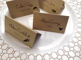 Meal Choice Place Cards For Weddings And Events Etsy Our Wedding