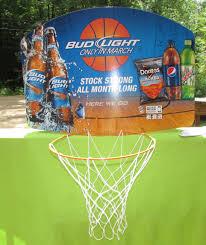 March Madness Bud Light Bud Light Budweiser March Madness Basketball Hoop Backboard