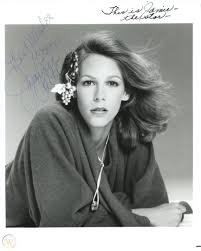 JAMIE LEE CURTIS as Young Star: Photo Autographed With Note From Mom Janet  Leigh
