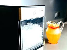 countertop crushed ice maker crushed ice maker crushed ice maker beautiful nugget ice machine home on opal nugget new crushed ice maker countertop crushed