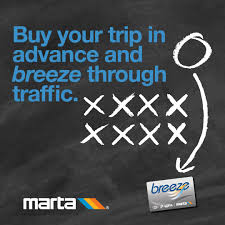 The card automatically debits the cost of the passenger's ride when placed on or near the breeze target at the fare gate. Marta On Twitter Buy A Commemorative Breeze Card Plan Your Hassle Free Trip To Super Bowl Liii And Let Marta Do The Driving Martasb53 Https T Co Ayqrxwxuo1