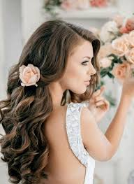 Bridal Hairstyle For Curly Hair Wedding Bridal Hairstyles For Long