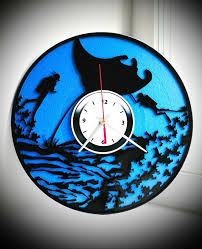 Wall clock Diving hunting Gift cheap Original Interesting Home ...