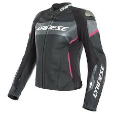dainese racing 3 d air women s leather jacket canada black and anthracite and fuchsia