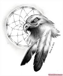 Native Dream Catcher Tattoos Native American Eagle And Wolf Tattoo Tattoo Viewer 61