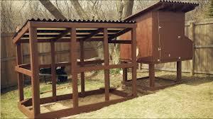Simple Chicken Coop Design Easy To Clean Backyard Suburban Chicken Coop Free Plans