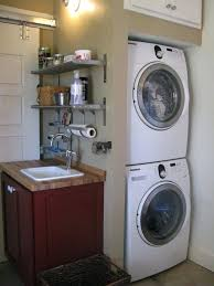 washer and dryer stands. Very Small And Narrow Inspiring Stacked Washer Dryer Storage For Spaces Combined With Wall Mounted Detergent . Pedestal Stands