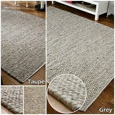 new wool 3d clearance large thick grey