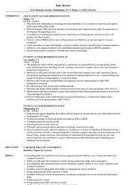 Patient Access Representative Resume Patient Access Representative Resume Samples Velvet Jobs 1