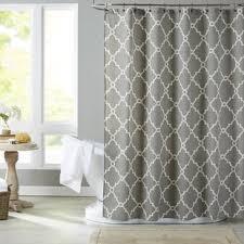 Beige shower curtains Blue Quickview Beige Wayfair Gray And Beige Shower Curtain Wayfair