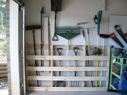 organize garden tools pallet storage system best way to organize garden shed
