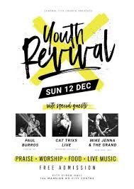 Church Revival Images Youth Revival Church Event Template Poster Fetival Event
