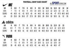 Soccer Boot Size Chart Buy Puma Soccer Cleats Size Chart 61 Off Share Discount