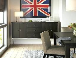 modern dining room storage. Modern Dining Room Cabinet Designs Dark Stained Wood Storage For A