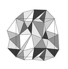 Illustratorでポリゴンのパターンを作る Spider Webs