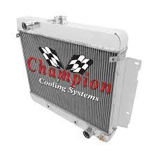 technical and installation info champion radiators in two three and four row cores