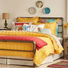pioneer woman yellow bedding
