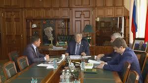 Кандидатские и докторские диссертации по техническим наукам будут  Аман Тулеев обсудил план развития Прокопьевска с главой города Андреем Мамаевым ·