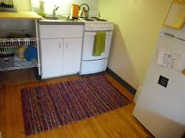 Kitchen Floor Rug Washable Kitchen Rugs Without Rubber Backing