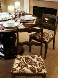 learn how to re cover and reupholster a dining room chair with these step
